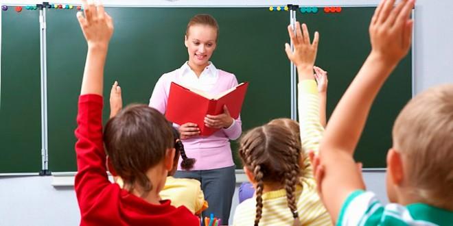 сценка для первоклассников ко дню учителя