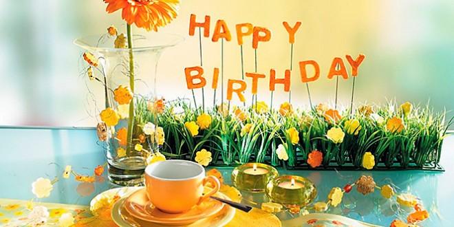 Поздравления с днем рождения от себя текст