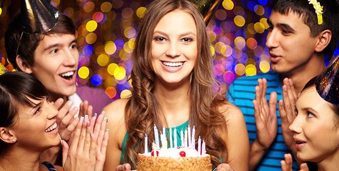 Красивое поздравление с днём рождения молодой девушке в прозе
