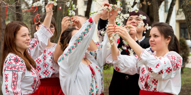 праздник мэрцишор в молдавии