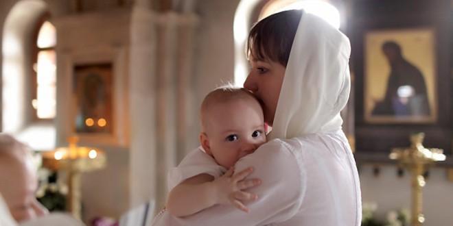 молитвы на крещение ребенка