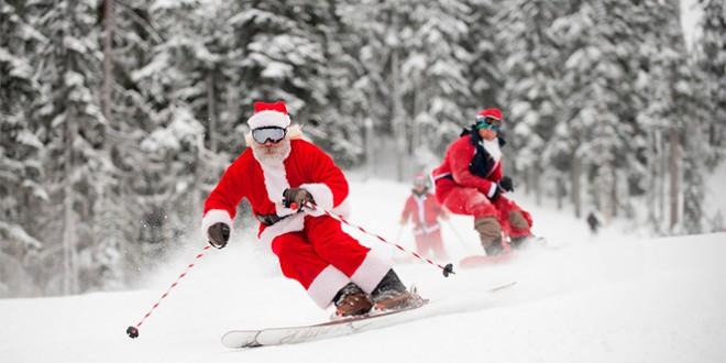 новый 2016 год на горнолыжном курорте в казани