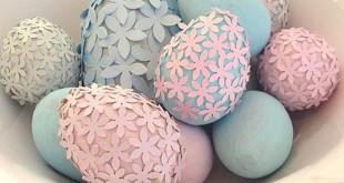 как сделать пасхальное яйцо своими руками