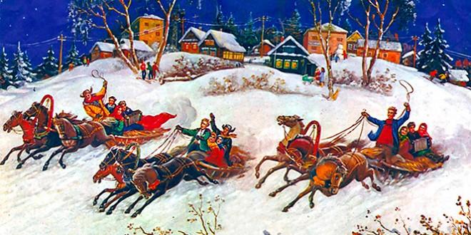 зимние святки история праздника
