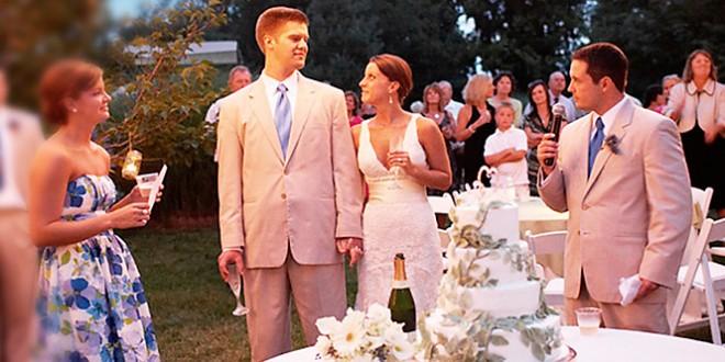 сценка поздравления на свадьбу брату
