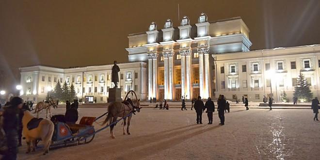 когда начнутся мероприятия на площади куйбышева в самаре на новый год 2016