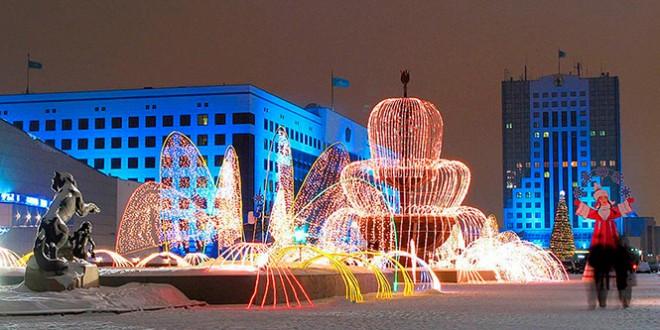куда поехать на новый 2016 год в казахстане