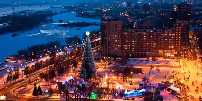 Красноярск на Новый год 2019. где отметить новогоднюю ночь