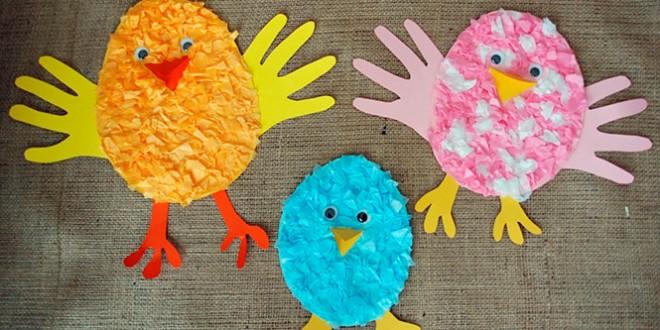 детские поделки к пасхе своими руками