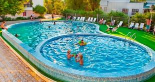 отдых в анапе с детьми с питанием и бассейном недорого