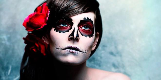 как сделать макияж (грим) на хэллоуин в домашних условиях