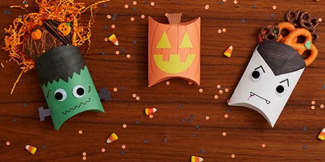 поделки на хэллоуин своими руками из бумаги и картона