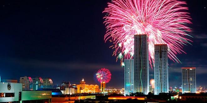 поздравление с новым годом на казахском