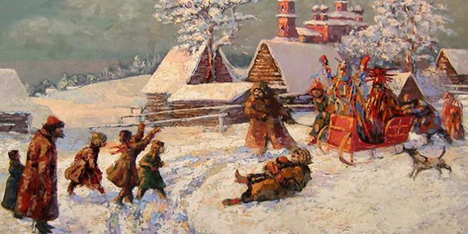 посевалки на старый новый год на русском языке
