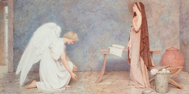 стихи о благовещении пресвятой богородицы