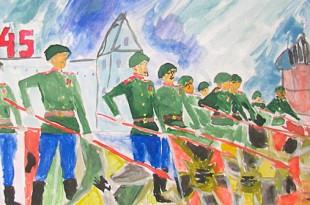 детские рисунки к 9 мая день победы