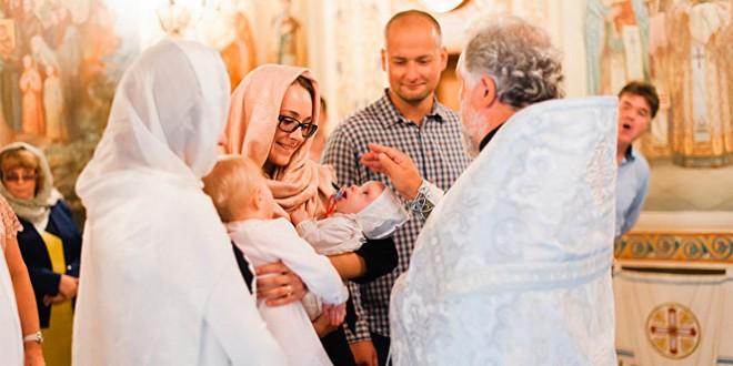 как провести крестины ребенка