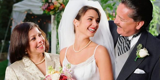 Новые поздравления на свадьбу от родителей