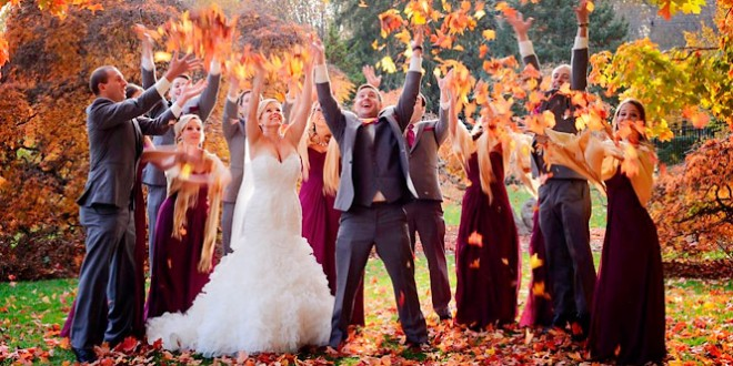 в чем пойти на свадьбу осенью