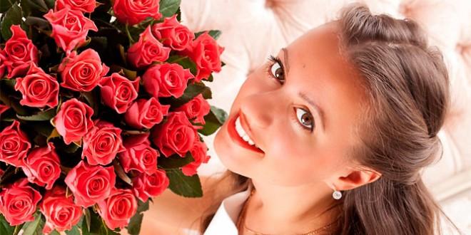 какие розы подарить на 14 февраля