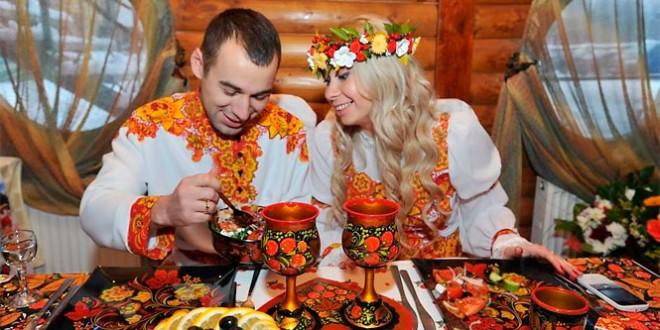 сценарий свадьбы в русском народном стиле